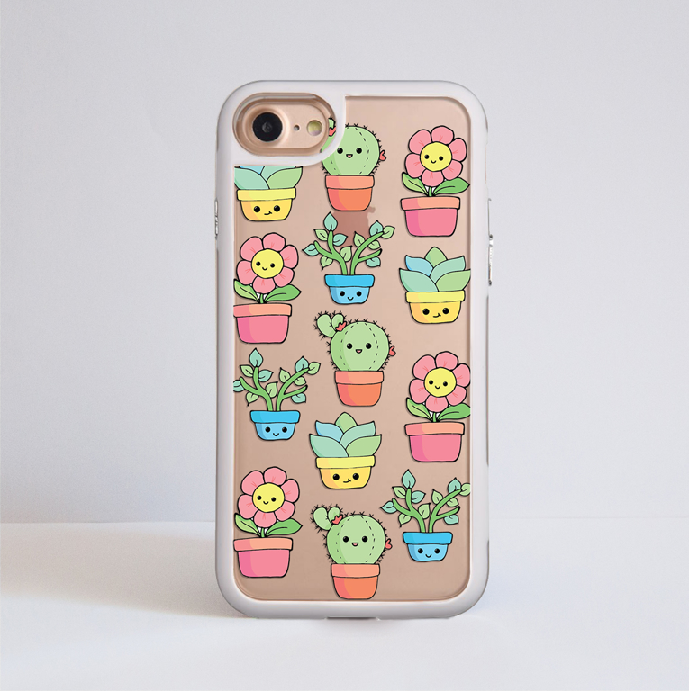 Cute Plants Impact Case | Available at www.dessi-designs.com