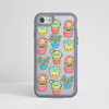 Cute Plants Impact Case Grey | Available at www.dessi-designs.com