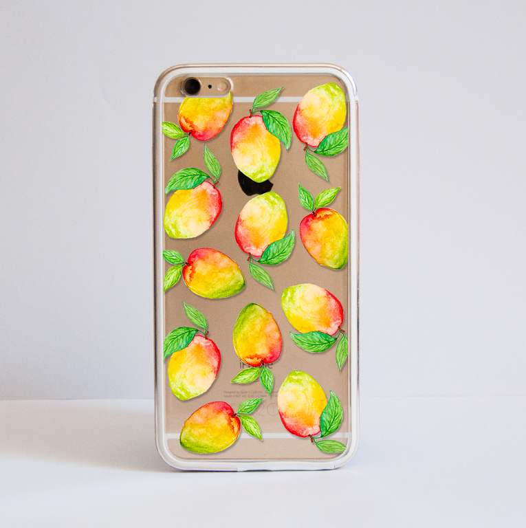 Mangos Bumper Phone Case Front | Available at Dessi-Designs.com