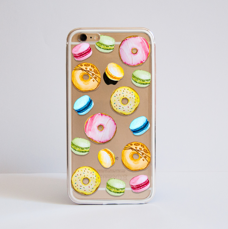 Sweets Bumper Phone Case Front | Available at Dessi-Designs.com