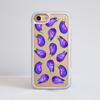 Eggplant Impact Phone Case Front | Available at Dessi-Designs.com