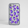 Eggplant Impact Phone Case Grey | Available at Dessi-Designs.com
