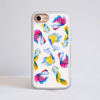 Rainbow Fish Impact Phone Case Front | Available at Dessi-Designs.com