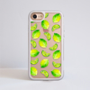 Lime Impact Phone Case Front | Available at Dessi-Designs.com