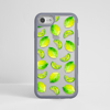 Lime Impact Phone Case Grey | Available at Dessi-Designs.com