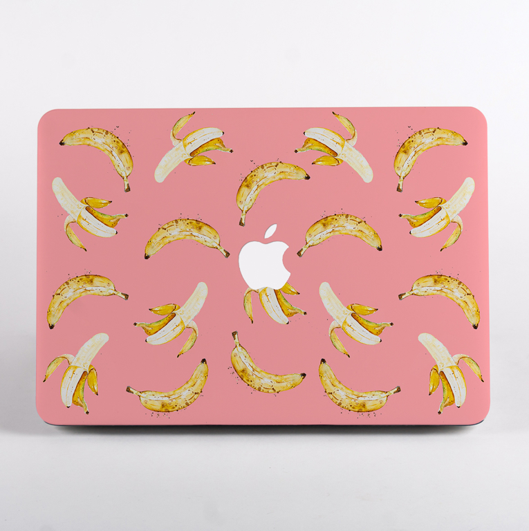 Pink Banana MacBook Air 13 Hardcase | Available at Dessi-Designs.com