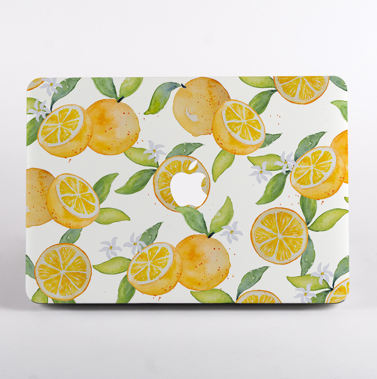 Oranges Macbook Air Hard Case | Available at Dessi-Designs.com