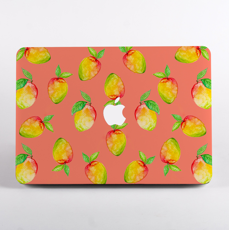 Mango Living Coral Macbook Pro Hard Case | Available at Dessi-Designs.com