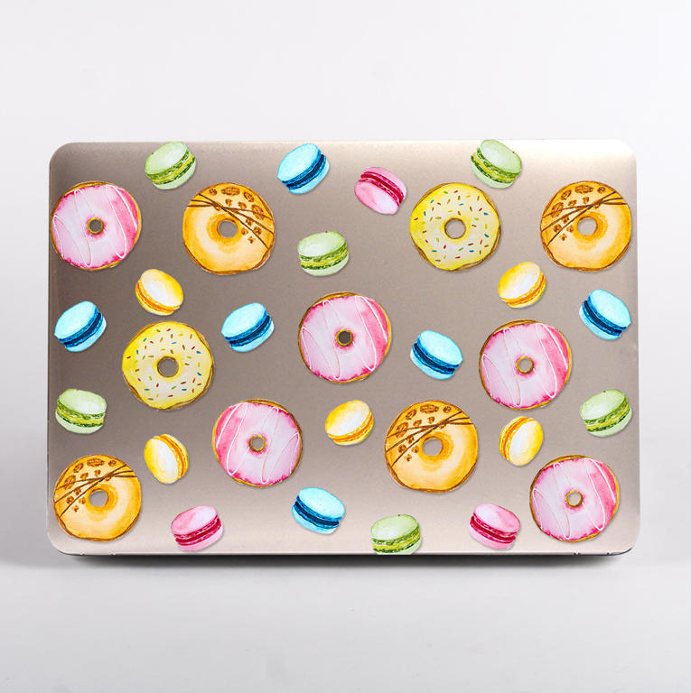 Sweets Crystal Clear MacBook Air Case | Available at Dessi-Designs.com