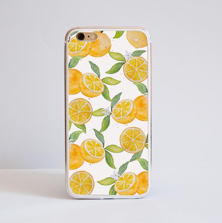 Oranges Metal Bumper Phone Case | Available at www.Dessi-Designs.com
