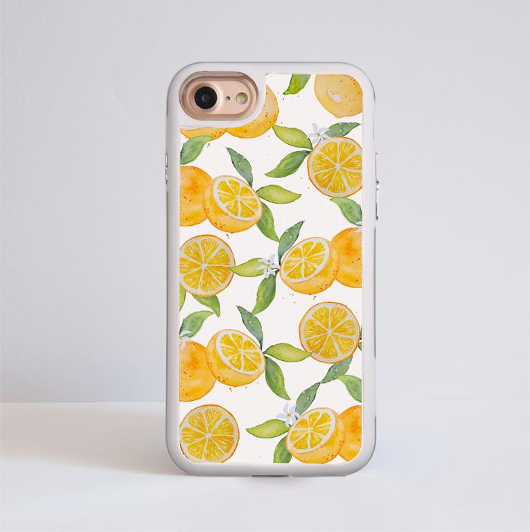 Oranges Bumper Phone Case | Available at www.Dessi-Designs.com
