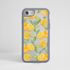 Oranges Impact Phone Case Grey Frame | Available at www.dessi-designs.com