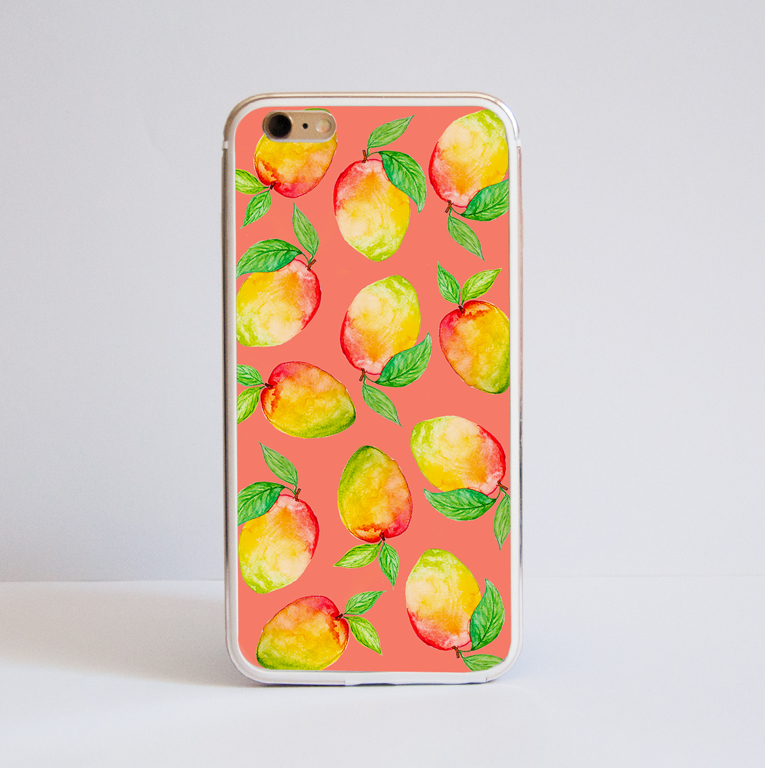 Mango Aluminium Bumper Phone Case | Available at www.dessi-designs.com