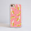 Pink Banana Thick Impact Phone Case | Available at www.dessi-designs.com