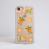 Sea Turtles Impact Phone Case White Frame | Available at www.dessi-designs.com