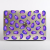 Eggplant Clear MacBook Case | Available at www.dessi-designs.com