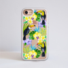 Toucan Birds Clear Impact Phone Case White Frame | Available at www.dessi-designs.com