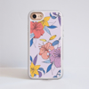 Purple Florals Impact Phone Case front | Available at www.dessi-designs.com