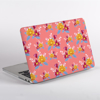 Pink Florals MacBook Case Side | available at www.dessi-designs.com