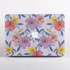 Purple Florals MacBook Case | Available at www.dessi-designs.com
