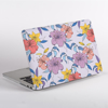 Purple Florals MacBook Case Side | Available at www.dessi-designs.com