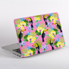 Toucan Birds Pink MacBook Case Side | Available at www.dessi-designs.com