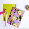 Tropical Toucan Birds Notebook | available at www.dessi-designs.com