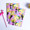 Set of two Tropical Toucan Birds Notebooks | available at www.dessi-designs.com