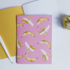 A5 Bananas Notebook | Available at www.dessi-designs.com