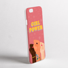 Girl Power Phone Cover | Available at www.dessi-designs.com