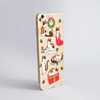 Cute Christmas Cats Phone Case.