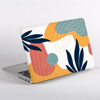 Blue and Pink Abstract MacBook Case Without Logo | Available at Dessi-Designs.com