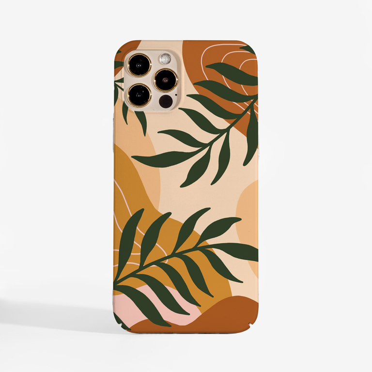Abstract Botanical Art iPhone 12 Case | Available at www.dessi-designs.com Phone Case