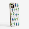 Slim Cactus Snap On Phone Case | Available at Dessi-Designs.com
