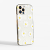 Daisy Flowers Transparent Phone Case Side | Available at www.dessi-designs.com