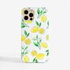 Lemon Slimline Phone Case Front | Available at Dessi-Designs.com