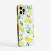 Lemon Slimline Phone Case Side | Available at Dessi-Designs.com