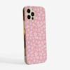 Pink Rosy Rose Slimline Phone Case Side | Available at www.Dessi-Designs.com