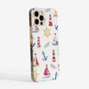 Boats Slimline Phone Case Side| Available at www.Dessi-Designs.com