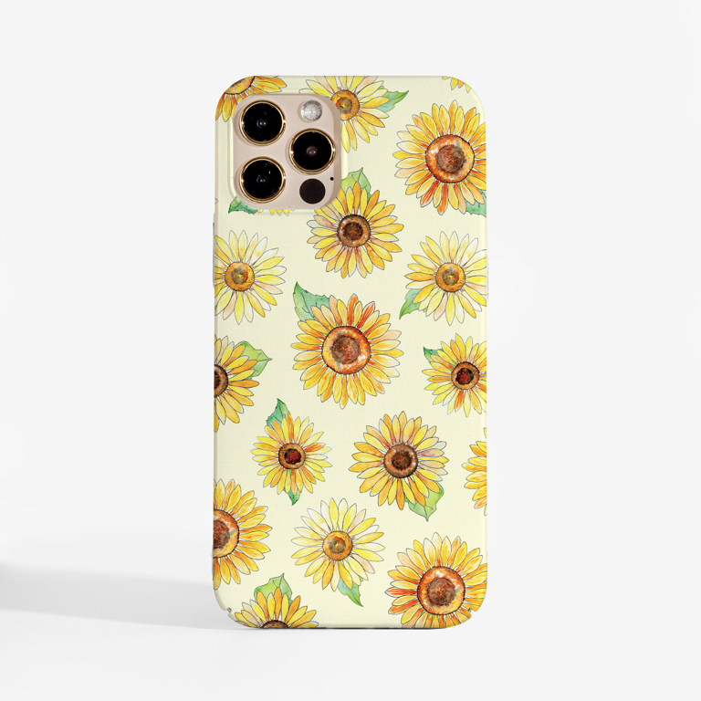 Sunflowers Phone Case Front | Available at www.dessi-designs.com