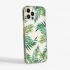 Clear Tropical Leaves Slimline Snap Phone Case Side | Available at Dessi-Designs.com
