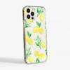 Clear Lemons Slimline Phone Case Side | Available at Dessi-Designs.com