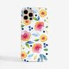 Autumn Floral Slimline Phone Case Front | Available at Dessi-Designs.com