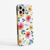 Autumn Floral Slimline Phone Case Side | Available at Dessi-Designs.com