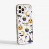 Clear Halloween Slimline Phone Case Phone Side | Available at Dessi-Designs.com
