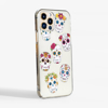Day of the Dead Clear Slimline Phone Case Side | Available at Dessi-Designs.com