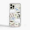 Arctic Animals Slimline iPhone Case Front   Available at Dessi-Designs.com