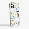 Arctic Animals Slimline iPhone Case Side | Available at Dessi-Designs.com