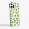 Brussels Sprouts Clear Slimline Phone Case side | Available at Dessi-Designs.com