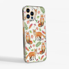 Foxes Clear Snap On Phone Case | Available at Dessi-Designs.com